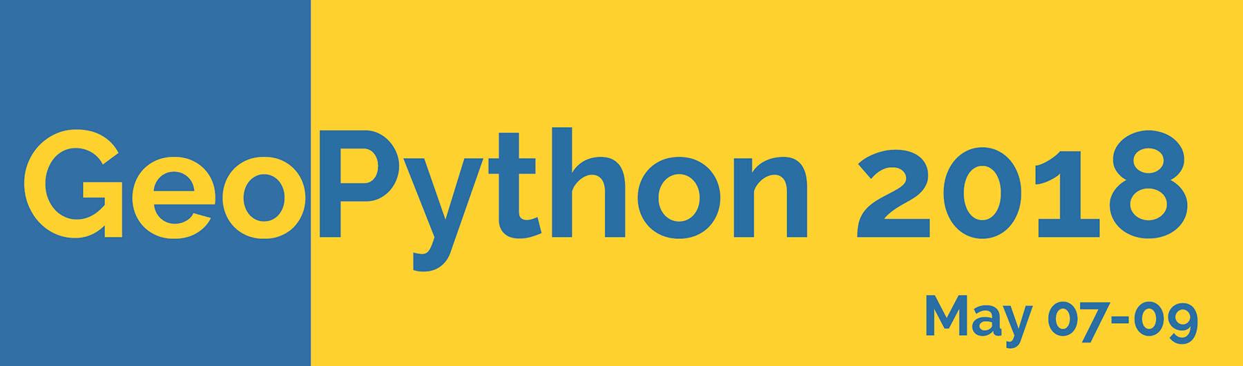 GeoPython 2018